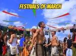 இந்தியாவின் மார்ச் மாத கொண்டாட்டங்கள் மற்றும் திருவிழாக்கள்