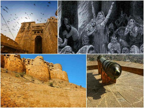 ஜைசால்மர் கோட்டை :