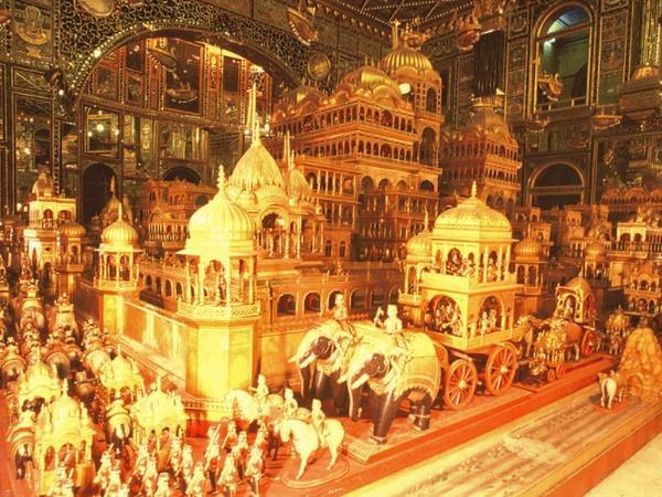 ராஜஸ்தானில் 1000 கிலோ தங்கத்தால் செய்யப்பட்ட அயோத்யா நகரம் !