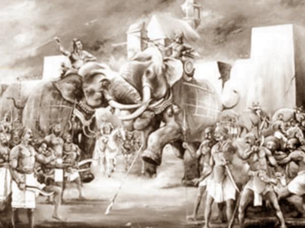 பல்லவப் பேரரசின் கடைசி மன்னன்