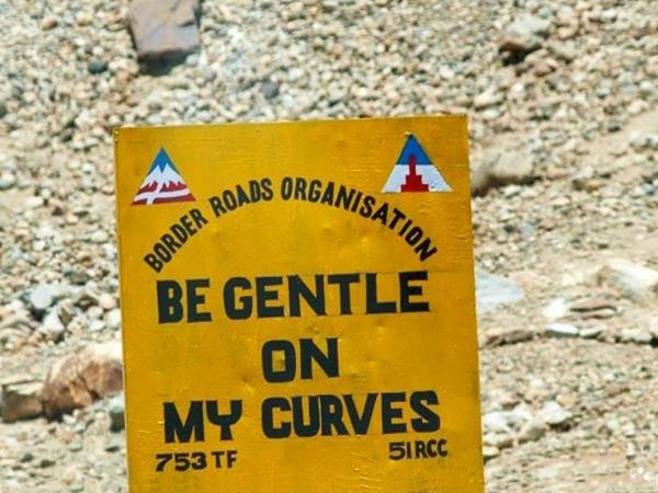 6. BE GENTLE ON MY CURVES