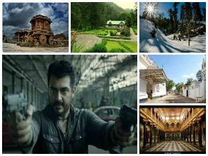 Places That Feature Ajith S Movies