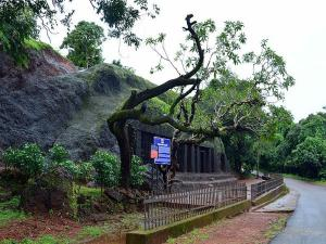 The Unexplored Arvalem Caves Waterfall At Goa