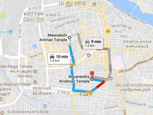 Tour Temple Madurai Sri Navaneetha Krishna Temple