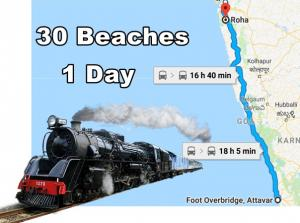 A Train Travel From Mangalore Mumbai Coastal Side