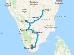 Lets Try This Trip Among Tamilnadu Hills Tourist Places