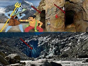 விநாயகரின் மனித தலை இப்போ இந்த குகையில்தான் இருக்காம் தெரியுமா?