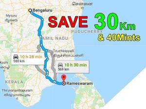 A Unique Way Travel Rameshwaram From Bangalore