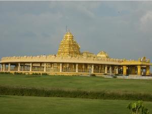 Travel This Temple At Sripuram Near Vellore