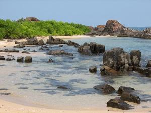 A Mystery Island Near Malpe Beach