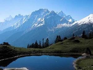 Lakes Near Himalayas Visit This Summer