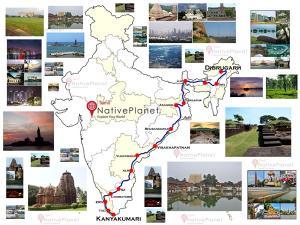 Places Visit On Kanyakumari Dibrugarh Express Route