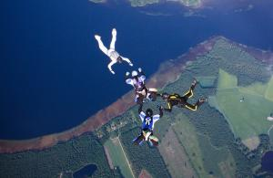 Top 5 Places Skydiving India
