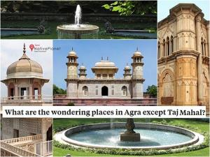 Wondering Places Agra Except Tajmahal