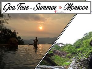 Best Time Visit Goa Summer Vs Monsoon