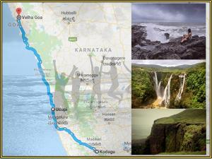 Beautiful Places The Route Coorg Goa A Single Trip