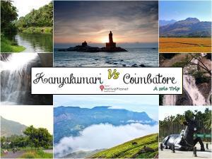 Kanyakumari Vs Coimbatore A Solo Trip Vs