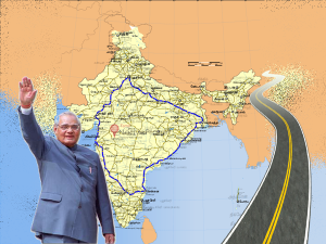 Travel Places Golden Quadrilateral Route From Delhi