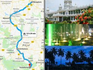Bangalore Kodaikanal Travel Guide Places Visit How Reach