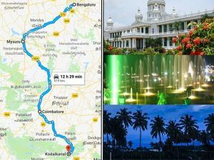 Bangalore Kodaikanal Travel Guide Places Visit How Reach