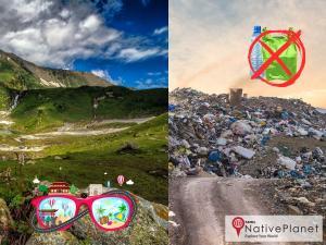 Say No Luggage Plastics Selfies Set Travel Trend