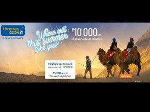 Get Rs 10 000 Off On Summer Holiday Packages At Thomas Cook