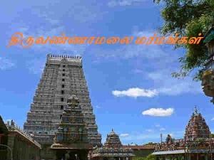 A Photo Dharshan Thiruvannamalai Temple