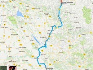 Best Places Visit While On Road Trip From Chandigarh Manali
