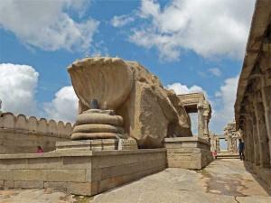 Among The Ancient Myths Monoliths At Lepakshi Tamil