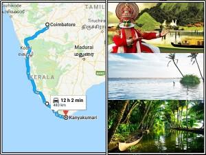 A Trip From Coimbatore Kanyakumari A Unique Way