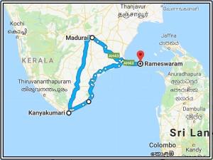 Madurai Rameshwaram Kanyakumari Travel Guide Easiest W