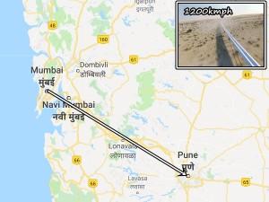 Mumbai Pune Travel Just 20 Minutes