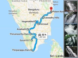 Lets Go Waterfalls Around Tamilnadu This Pre Summer
