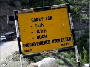 Darling I Like You But Not So Fast Attractive Sign Boards In Ladakh