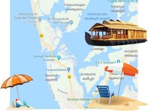 Travel Kollam Kerala Beach Lake River