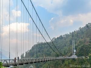 Highest Bridge Asia Sikkim Bridge
