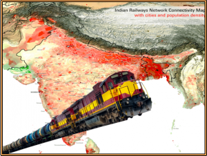 Longest Train Route Connecting India