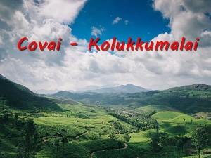 Coimbatore Kolukkumalai Travel Guide Best Places Visit
