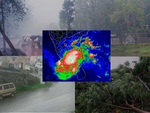 Cyclone Gaja Places Affected Heavy Rain Kodaikanal