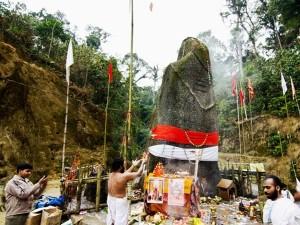 Shiva Linga Temple At Kardo Forest Ziro