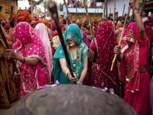 A Colorful Holi Celebration At Gokul