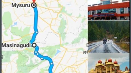 கோவை - மைசூர் via மசினக்குடி இப்படியொரு வழி இருக்கா ?