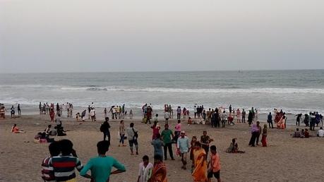 கடற்கரை நகரமான கோபால்பூர் .. கோலாகல கொண்டாட்ட சுற்றுலா!