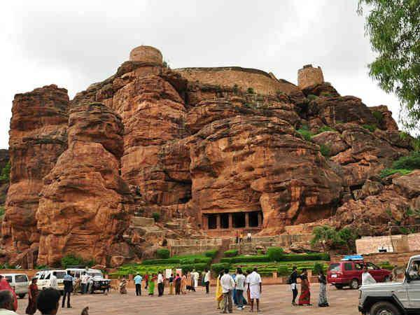Do You Know The Badami Caves Which Is Favourite Place Tapsee