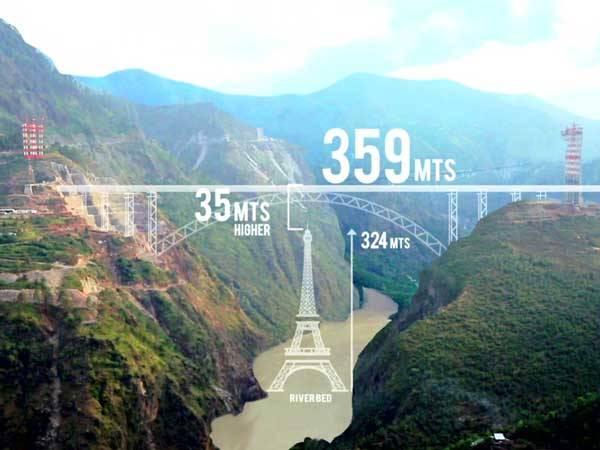 World Largest Bridge India Will Overtake Eiffel Tower
