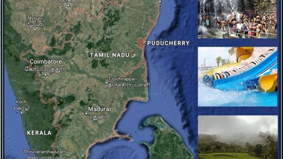 மேற்குத் தொடர்ச்சி மலையோரம் பசுமை நிறைந்த மாவட்டங்கள்!